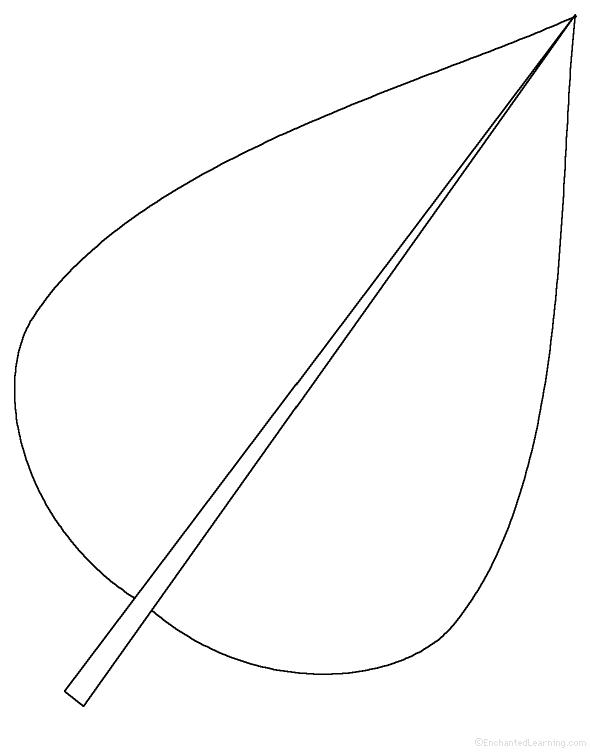 leaf cutout