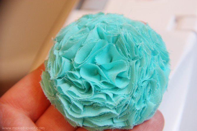 fabric flower 3
