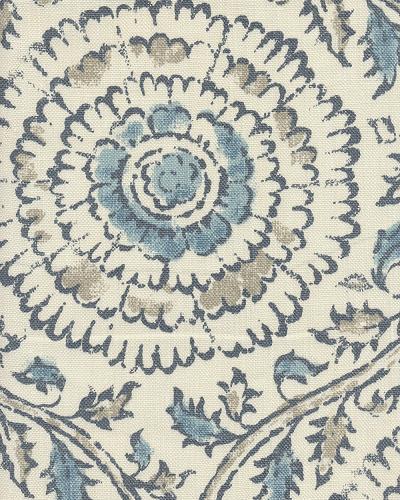 Kamala Mist Cotton Prints Fabric By The Yard