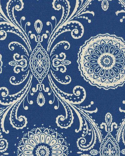 Waverly Pkl Od Reflective Indigo Indoor, Waverly Outdoor Fabric By The Yard
