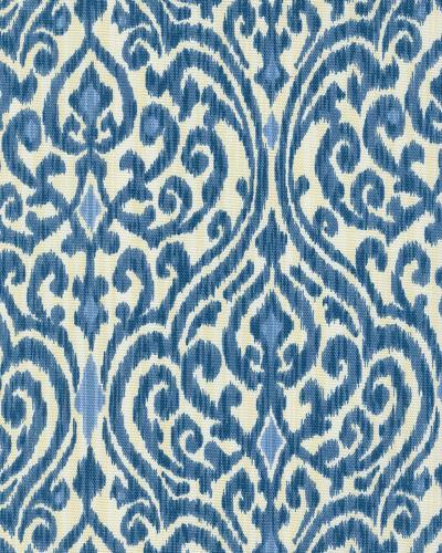 Waverly Srilanka Indigo Cotton Prints Fabric By The Yard
